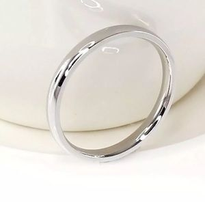 Other - Polished Stainless Steel 4mm Ring/Band Size: 13